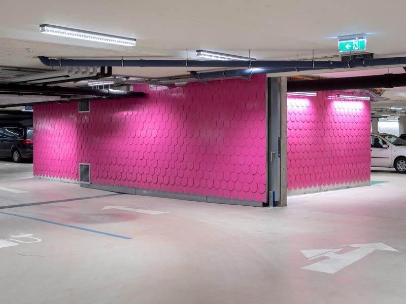 Christoph Hinterhuber Kunst am Bau Am Schmiede Platz Kaltenbach